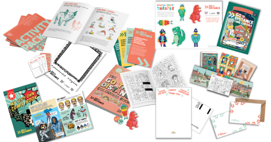 Contents of the Everybody's Home Kit by First Art