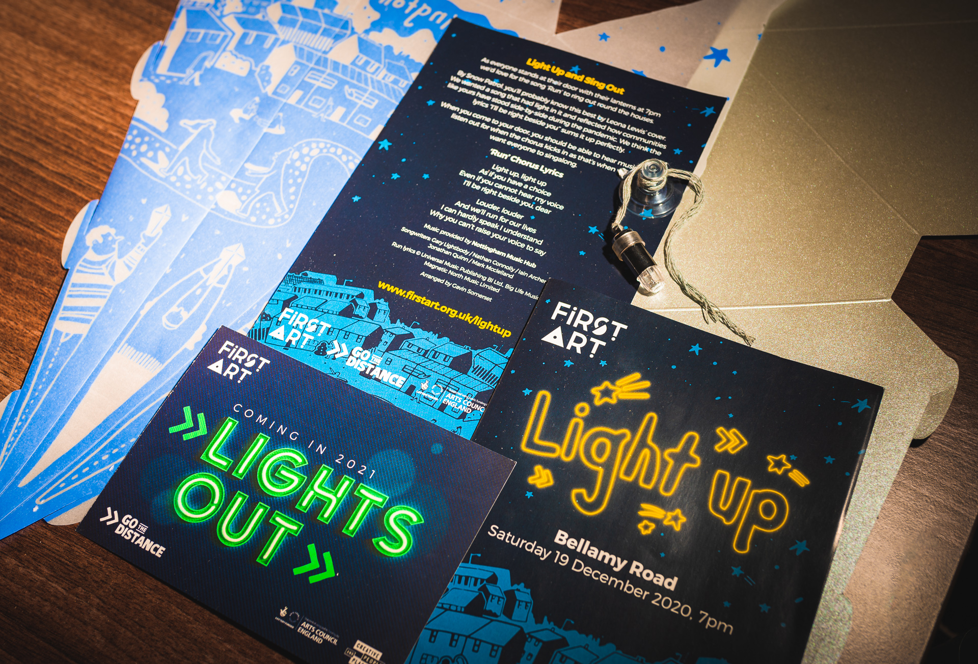 Lantern kit contents