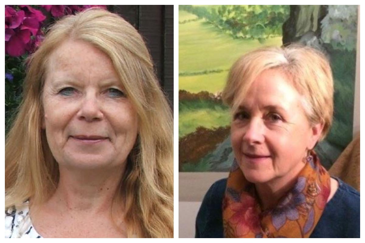 Lynn Luddit and Leonie Martin writers