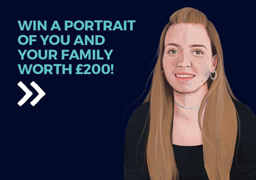 Win a portrait promo cover
